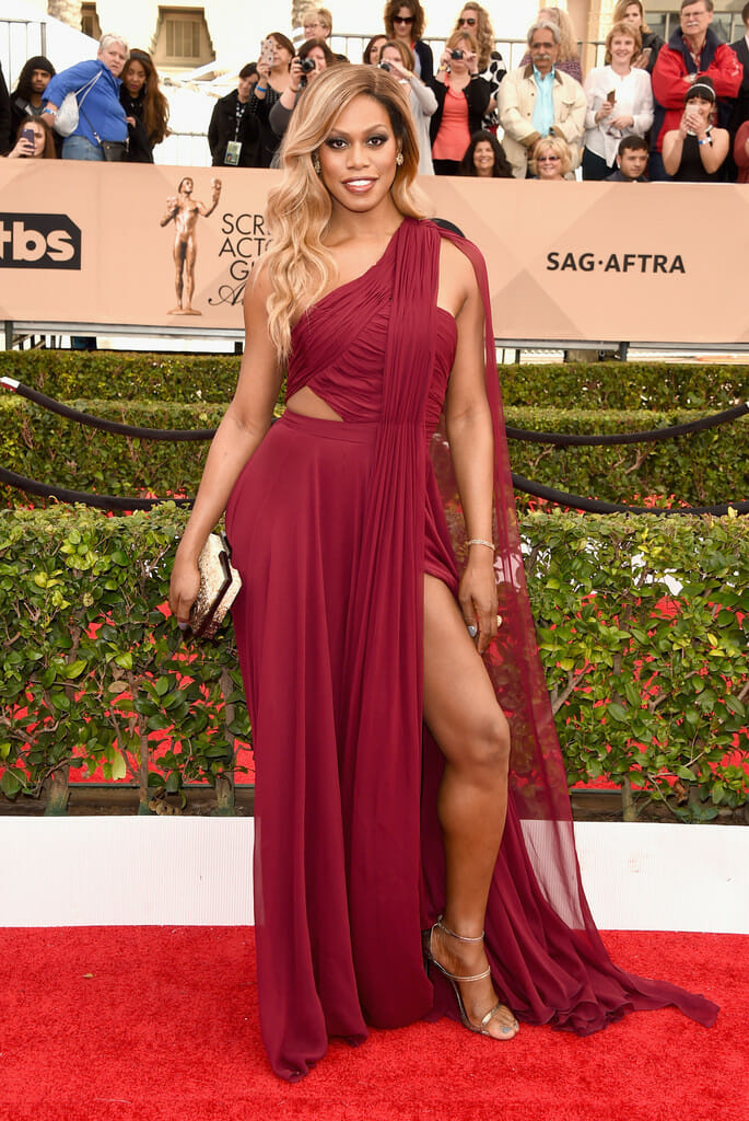 On-The-Scene-22nd-Annual-Screen-Actors-Guild-Awards-Laverne Cox