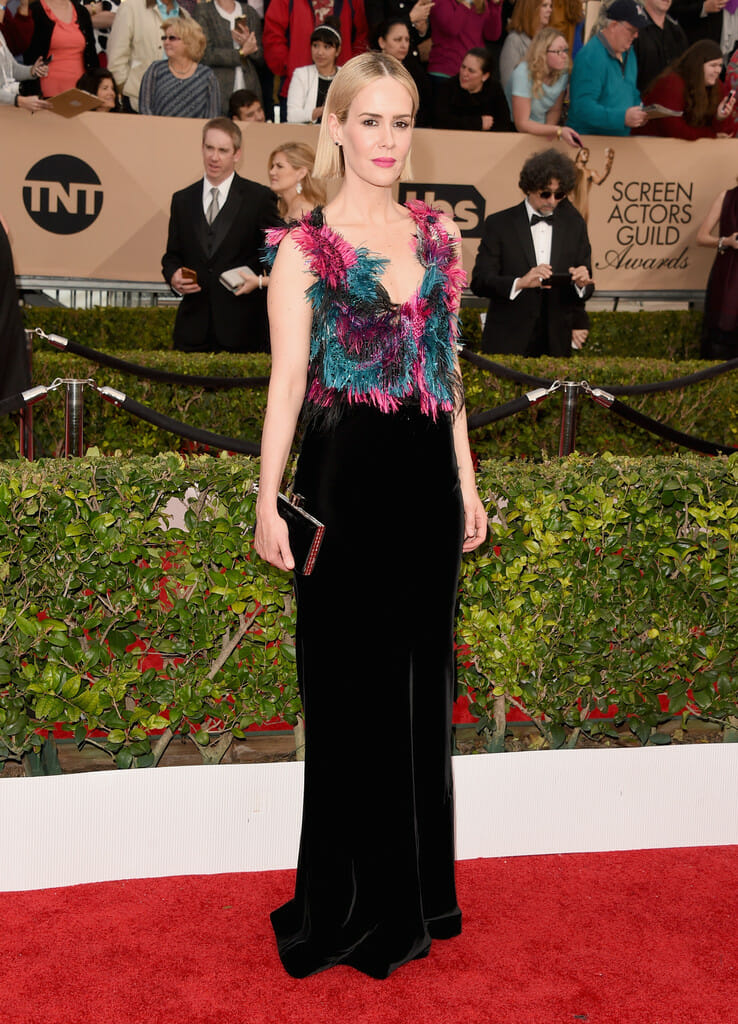 On-The-Scene-22nd-Annual-Screen-Actors-Guild-Awards-Sarah-Paulson