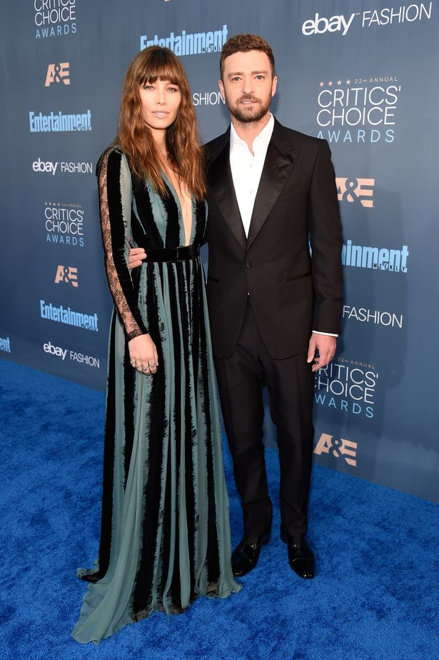 jessica-biel-justin-timberlake-critics-choice-awards