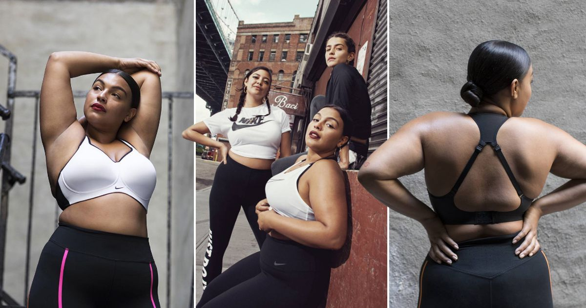 Nike's Redefining Fashion for All with Plus-Size Collection ...